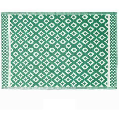 Tapis extérieur 120x180 cm Osaya vert foncé - Vert