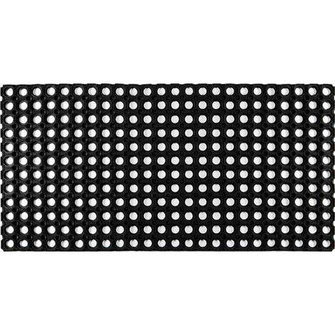 Tapis extérieur grattant - domino - 100x50 cm