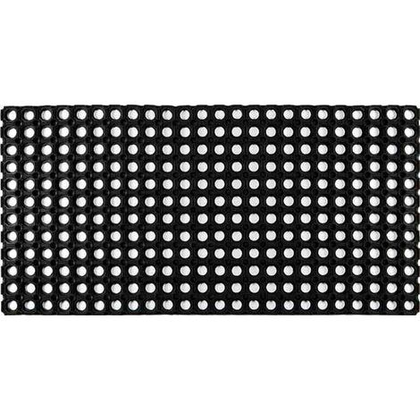 Tapis extérieur grattant - domino - 80x40 cm