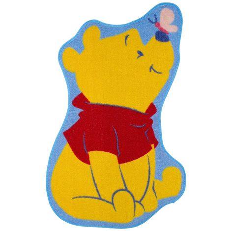 Tapis forme Winnie l'Ourson Disney