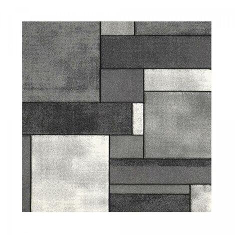 Tapis graphique et modern pour le salon BRILLANCE GEOMETRIQUE