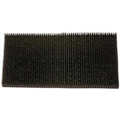 Tapis grattoir gazon Gazongrat noir 40x60 cm