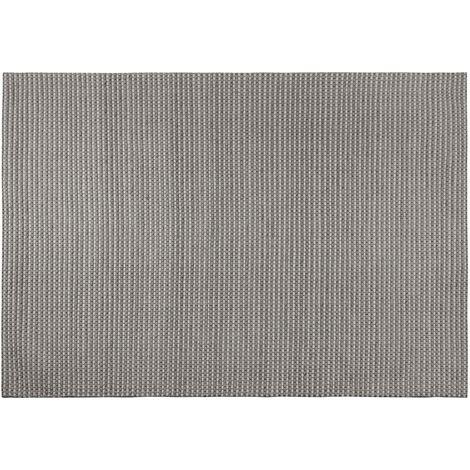 Tapis gris foncé 160 x 230 cm KILIS