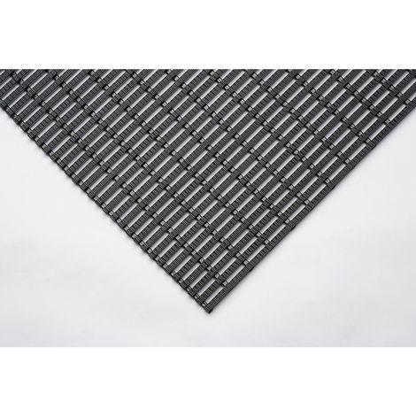 """main image of """"Tapis industriel à surface profilée - rouleau de 10 m - largeur 600 mm - Coloris: Noir"""""""