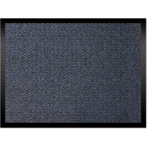 Tapis intérieur bleu 60x80 cm Cahors / Florac