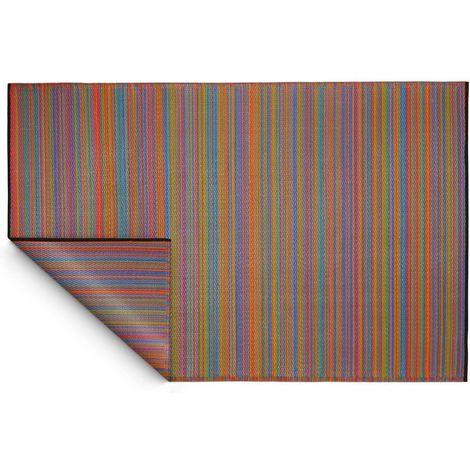 Tapis intérieur extérieur Cancun multicolore 270 x 180 cm - Multicolore