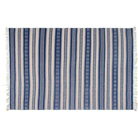 Tapis intérieur extérieur Chatsworth 90 x 60 cm - Bleu