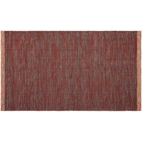 Tapis intérieur extérieur Kingscote abricot 150 x 90 cm - Abricot