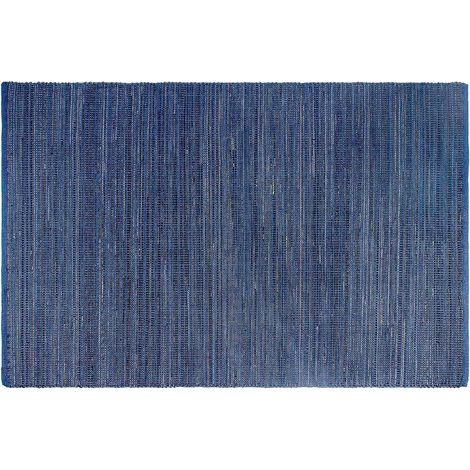 Tapis intérieur extérieur Kismet indigo 90 x 60 cm - Indigo