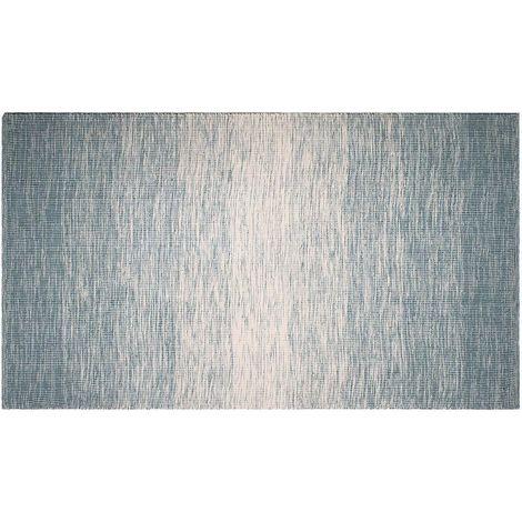 Tapis intérieur extérieur Stockholm bleu 270 x 180 cm - Bleu