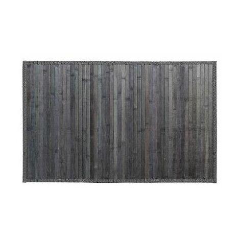 80 x 150 cm MSV Tapis Bambou Marron Fonce 50 x 80 cm