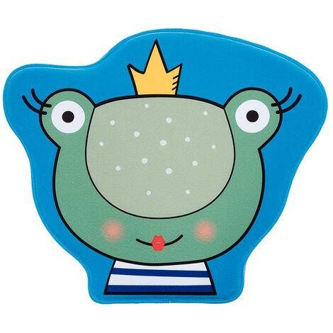 Tapis lavable en machine antidérapant multicolore enfant Frog Multicolore 70x60