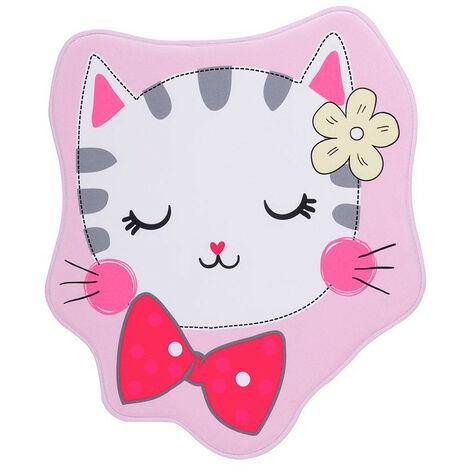 Tapis lavable en machine multicolore enfant Kitten Multicolore 60x70