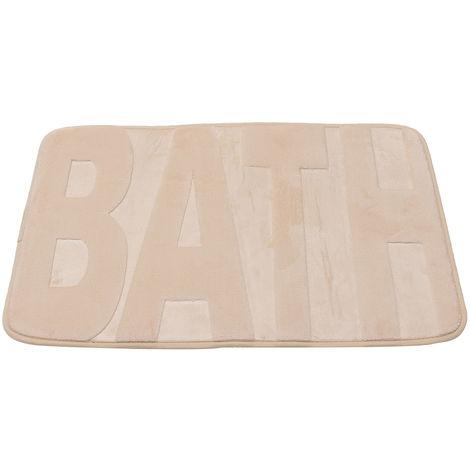 Tapis mémoire de Toison de corail 40x60 cm Tapis salle de bain et Cuisine D
