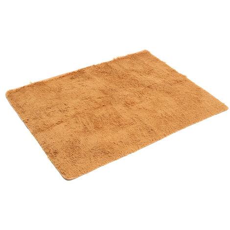 Tapis moelleux tapis antidérapant Shaggy tapis salle à manger maison chambre tapis tapis de sol Mohoo