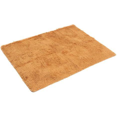 Tapis moelleux tapis antidérapant Shaggy tapis salle à manger maison chambre tapis tapis de sol Sasicare