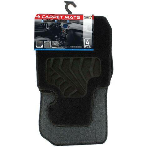 Tapis moquette compatible avec BMW Serie 3 F30 sur mesure 4 pieces