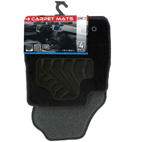 Tapis moquette compatible avec Ford Fiesta 13-17 sur mesure 4 pieces