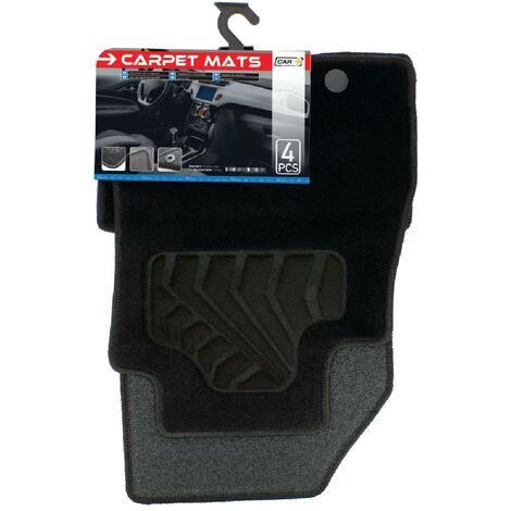 Tapis moquette compatible avec Nissan Juke ap10 sur mesure 4 pieces