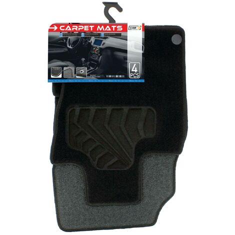 Tapis moquette compatible avec Nissan Qashqai 2 ap14 sur mesure 4 pieces