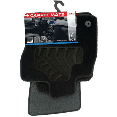 Tapis moquette compatible avec Seat Leon 3 ap12 sur mesure 4 pieces