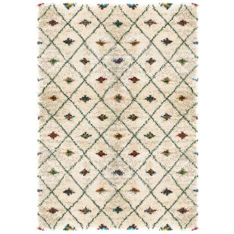 Tapis motif Berbère - Patan coloré
