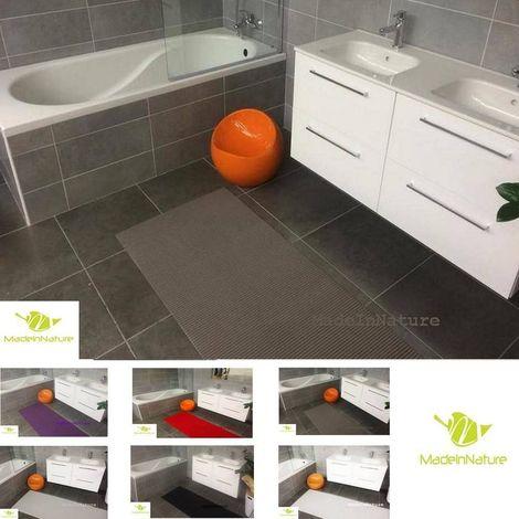 Tapis multi usages Gris taupe décosoft dimensions, Idéal pour cuisine, évier, salle de bain, couloir, placard