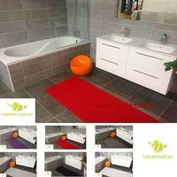 Tapis multi usages Rouge décosoft dimensions, Idéal pour cuisine, évier, salle de bain, couloir, placard