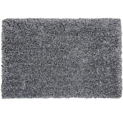 Tapis noir et blanc 160 x 230 cm CIDE