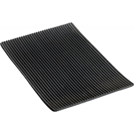 Tapis noir515 NR/SBR 3mm 1x10m