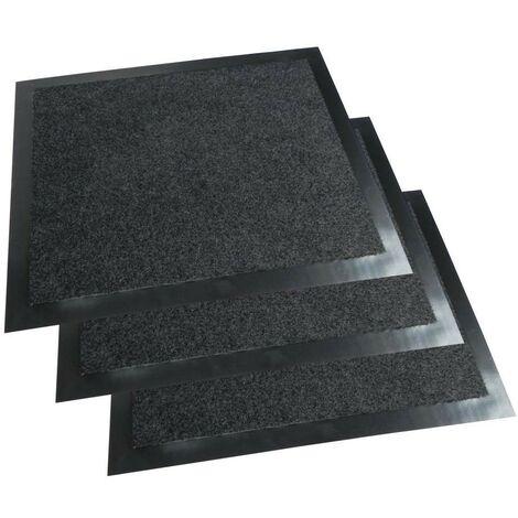tapis / paillasson d'entrée anti boue - vendu par 3