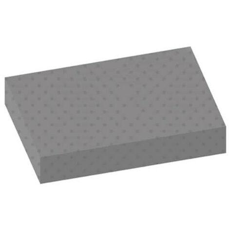 Tapis pastilles gris 100x120cm épaisseur 3mm - Gris