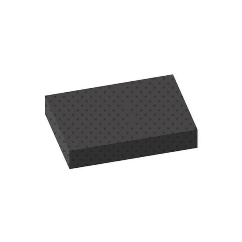 Tapis pastilles noir 100x120cm épaisseur 3mm