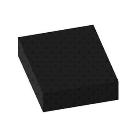 Tapis pastilles norme bâtiment noir 100x100cm épaisseur 3mm