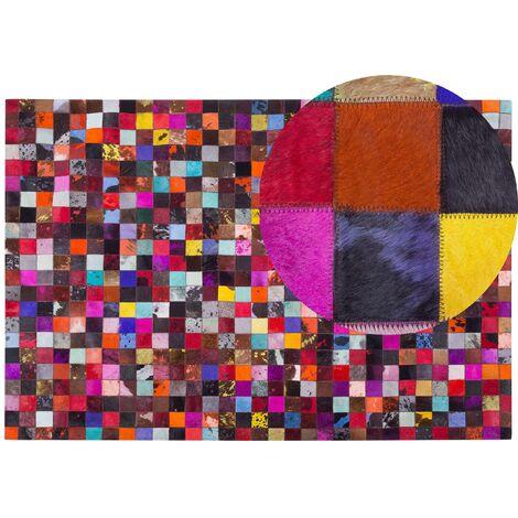 Tapis patchwork multicolore 200x300 cm ENNE