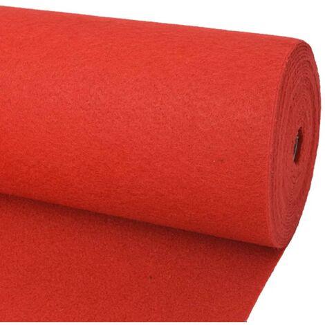 Tapis pour exposition 2 x 12 m Rouge