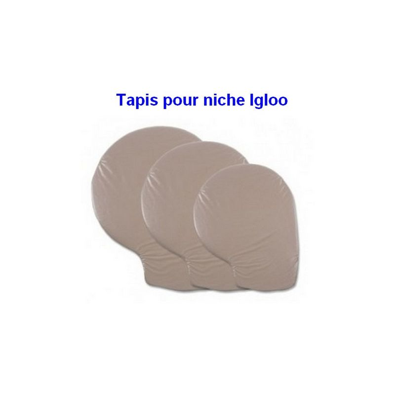 Tapis pour niche Igloo Indigo Désignation : Tapis Igloo Indigo | Taille : X-Large 900194 - Petmate