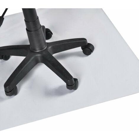Tapis protection sol chaise siège fauteuil bureau PVC Xl 150 x 120 cm