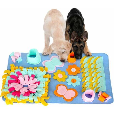 tapis renifleur transparent chiens, pelouse reniflante pliable lavable, tapis d'entraînement pour animaux de compagnie chiens chats , Smell Train Sniffing Blanket Dog Puzzle Toys Dog Snuffle Mat Pet Sniffing Pad
