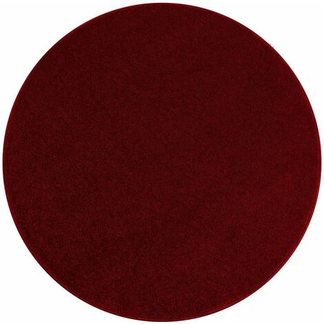Tapis rond BALI 200x200 Rouge - Rouge