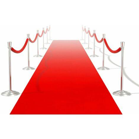 Tapis rouge 1 x 5 m 400 g/m²