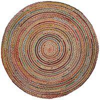 Tapis Saht Ø150 cm multicouleur