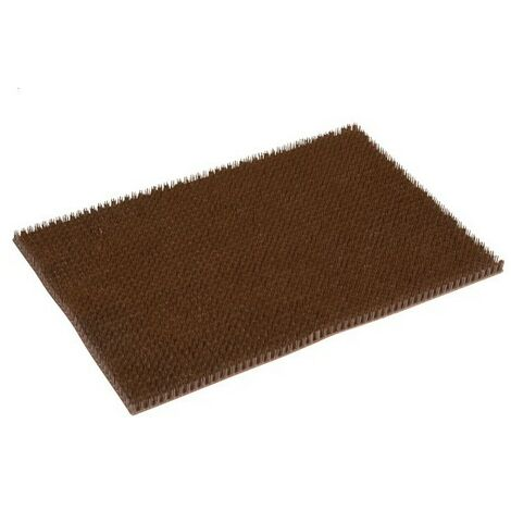 Tapis Season Gazon grattoir marron 40x60cm épaisseur 20mm