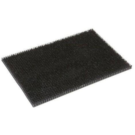 Tapis Season Gazon grattoir noir 40x60cm épaisseur 20mm