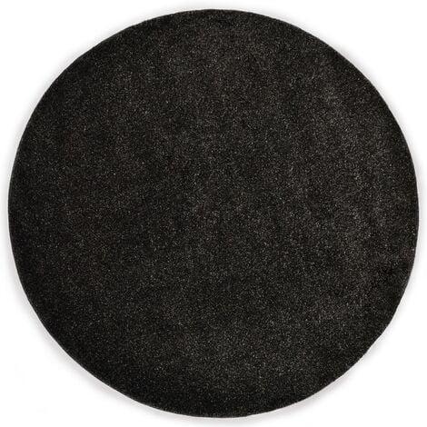 Tapis Shaggy 67 cm Anthracite