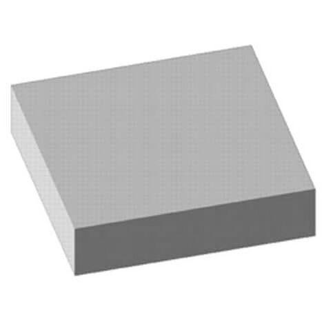 Tapis strié gris 100x120cm épaisseur 3mm