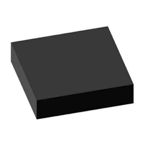 Tapis strié noir 100x120cm épaisseur 3mm