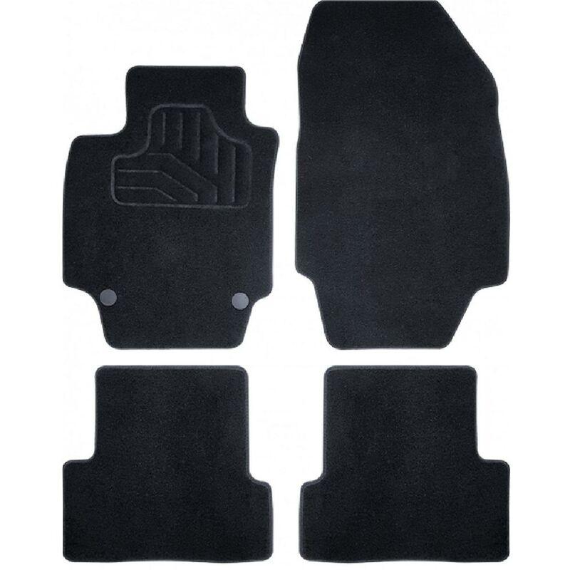 Tapis sur mesure compatible avec Audi A1 10-19