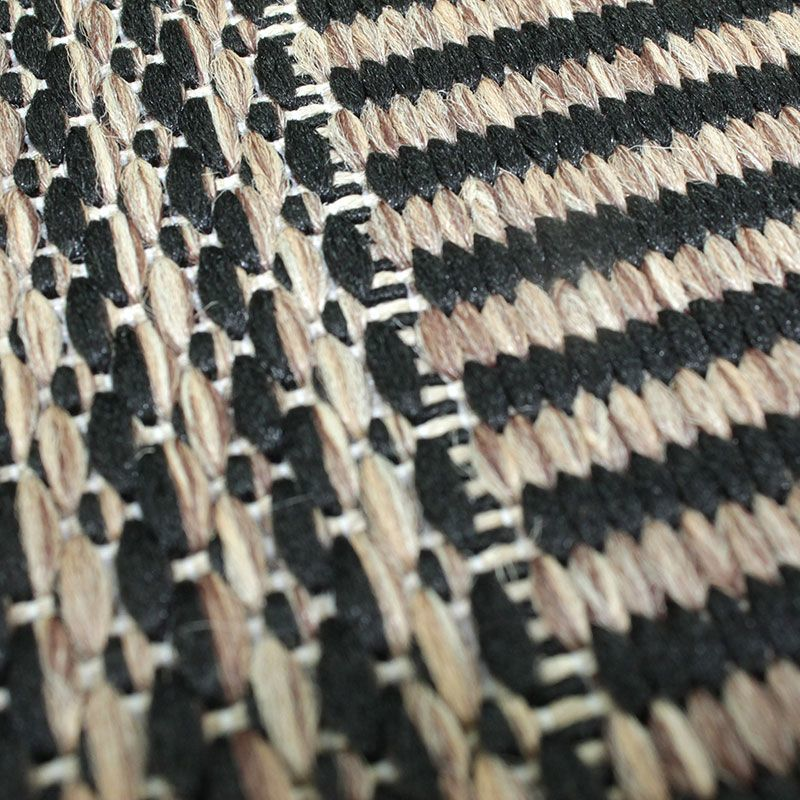 Tapis SUVA (190x133cm) Noir/Marron