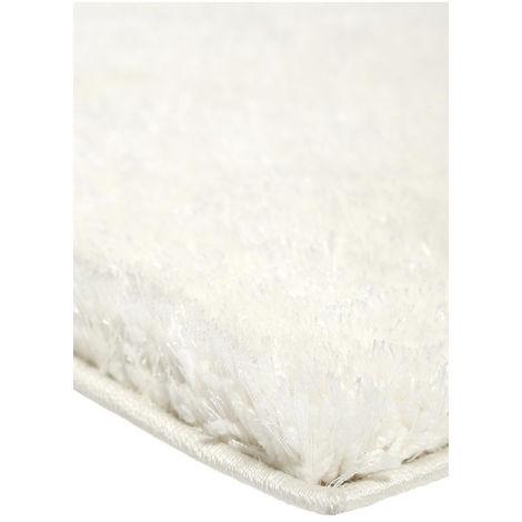 Tapis uni à longues mèches Spa Esprit Home Blanc 80x150